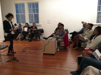 Sassafras, Cypress, and Indigo Women Reading 2015